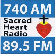 logo for Sacred Heart Radio